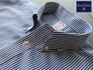★美品 ブルックスブラザーズ BROOKS BROTHERS ボタンダウンシャツ クールストライプ LLサイズ POLO VAN JAC VAN RED LABEL Kent Jプレス