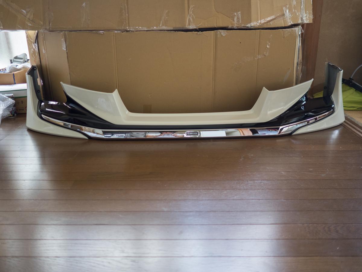 30 アルファード S SA SR モデリスタ フロントスポイラー 070