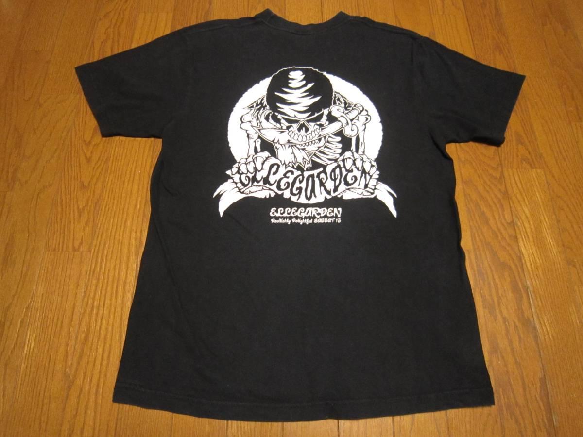 178-64/ELLEGARDEN/エルレガーデン×SABBAT13/サバト13/Tシャツ/L