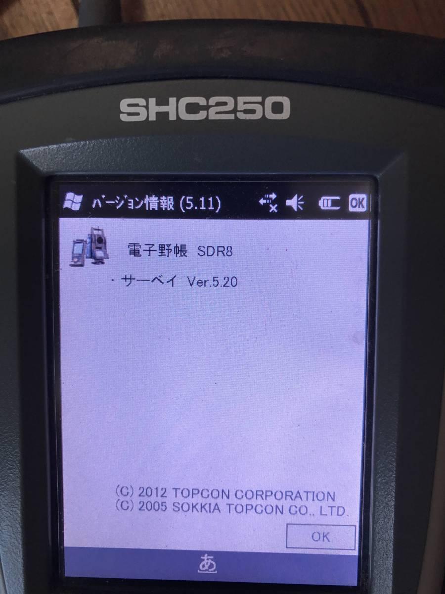 ◆◇ソキア 電子野帳(SHC250)◇◆_画像3