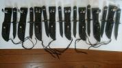 サバイバルナイフ 8本セット お買い得 デッドストック 長期保管の為 多少サビあり
