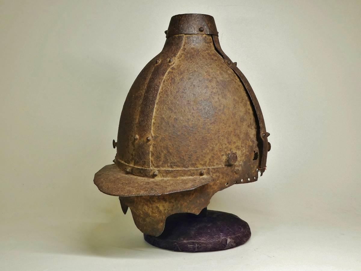 「特別出品」 眉庇付兜(古墳時代後期)~岡山県立博物館展示品