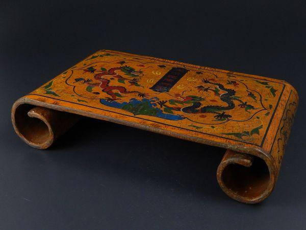 中国古玩 唐物 存星 巻足花台 細密細工 時代物 極上品