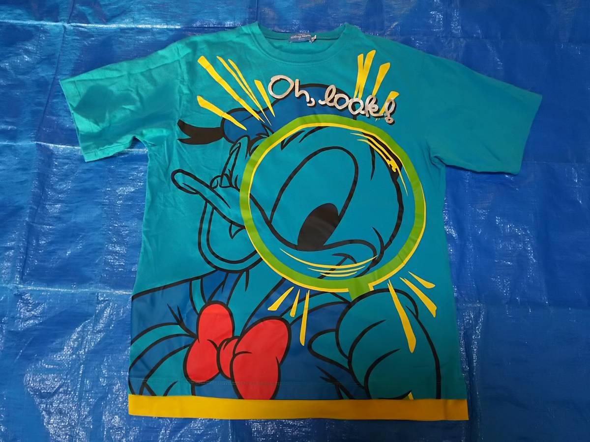 ディズニー リゾート ドナルド  ダッグ てんとうむし Tシャツ  LL ディズニーグッズの画像