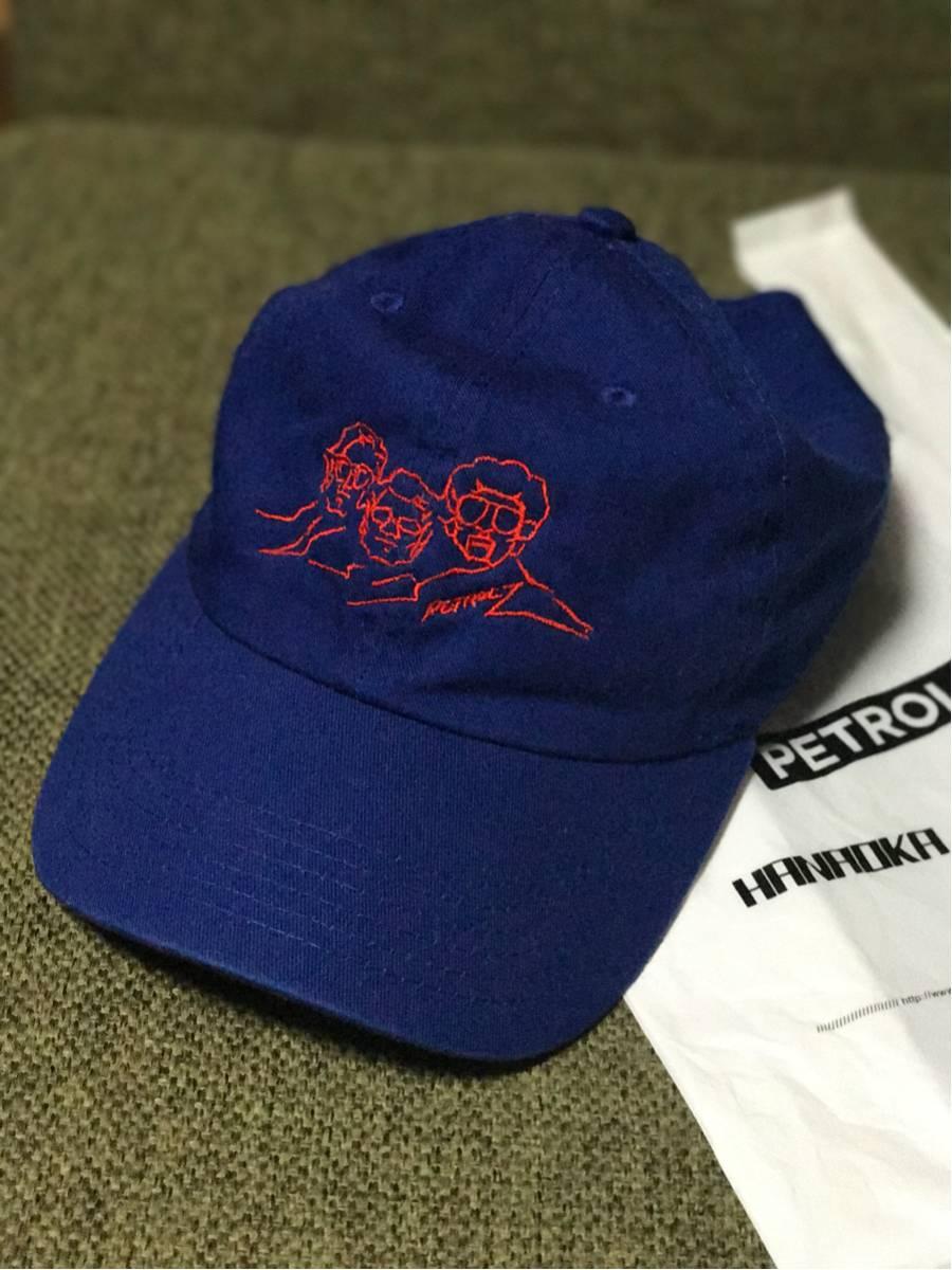 美品 ペトロールズ キャップ ブルー ツアー LIVE会場限定 PETROLZ 長岡亮介 CAP BLUE 刺繍
