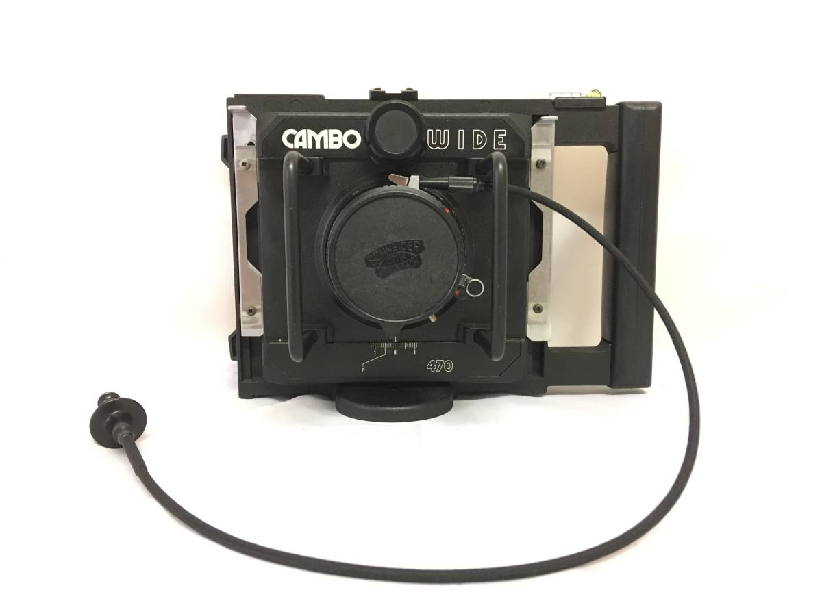 CAMBO カンボ WIDE470 ワイド470 Schneider-KREUZNACH SUPER-ANGULON 5.6/47 MULTICOATIN