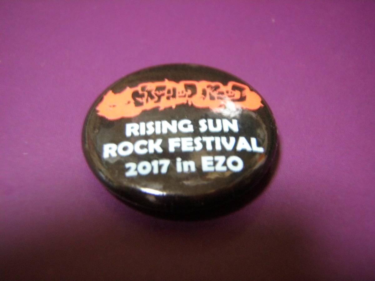 RSRライジングサン2017 バッジ ヒステリックパニック