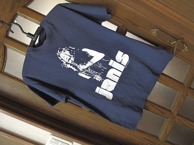 ■ジャニス・ジョプリン Janis Joplin ■*USEDのビンテージ感あり!*着心地抜群の綿素材Tシャツ■M(L)