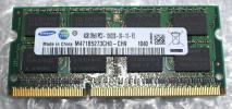 ★SAMSUNG 4GB DDR3 PC3-10600S ノートPC用 増設メモリー x23_81421