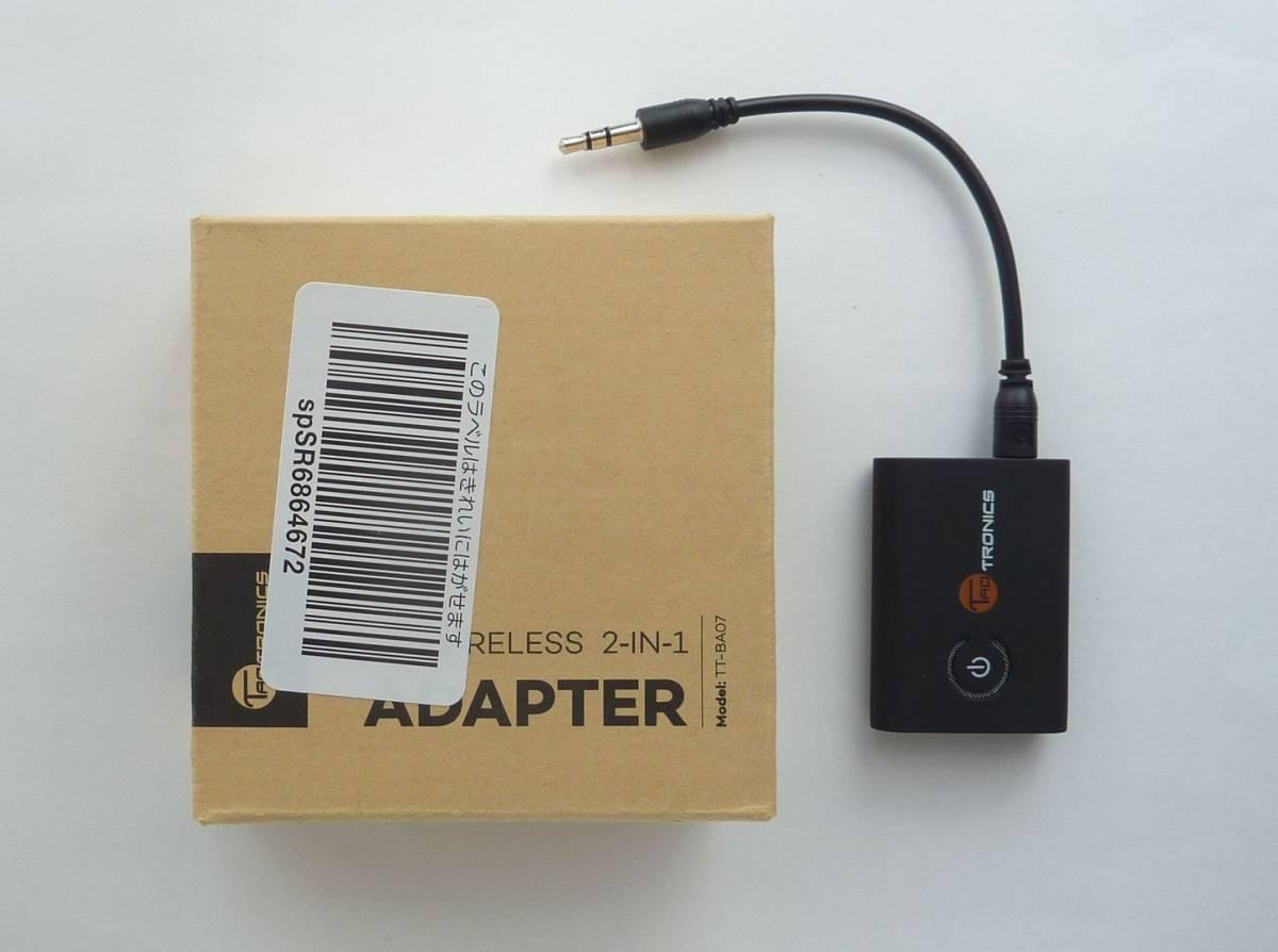 高性能 Bluetooth トランスミッター レシーバー taotoronics TT-BA07