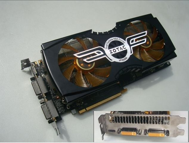 ☆ ZOTAC VF3000(NVIDIA GeForce GTX 580)ゲーミング/ビデオ カード  ☆_画像2