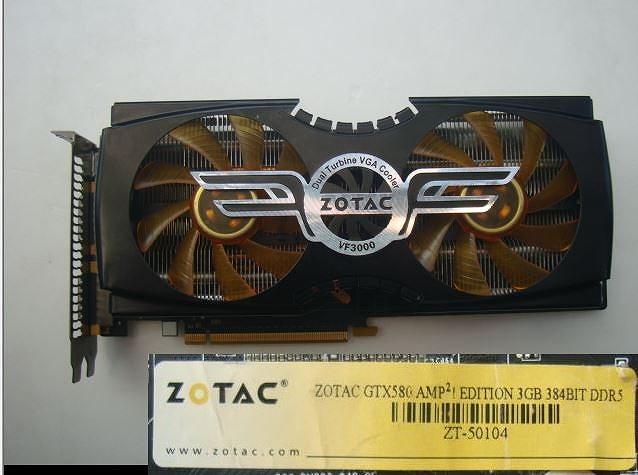 ☆ ZOTAC VF3000(NVIDIA GeForce GTX 580)ゲーミング/ビデオ カード  ☆