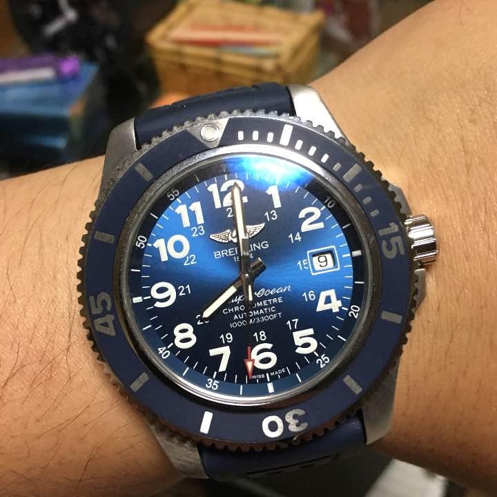 ブライトリング BREITLING スーパーオーシャン44mm Super Ocean II 44 腕時計