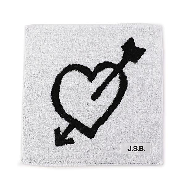 J.S.B. LOVE HEART&ARROW Hand Towel 三代目J Soul Brothers ハンドタオル