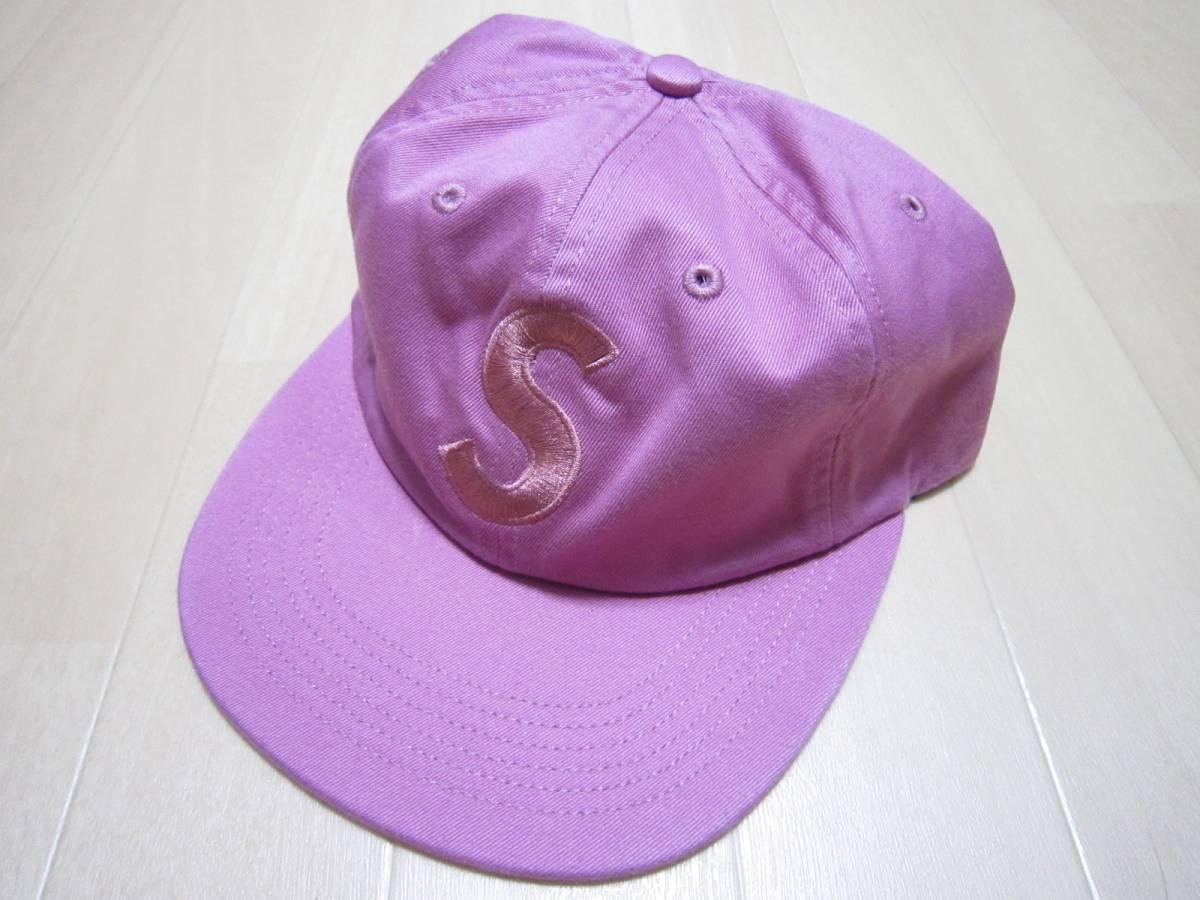 ピンク 国内正規 即決supreme 17aw Tonal S Logo 6-Panel シュプリーム 17fw Capキャップ 桃pink 18ss_画像1