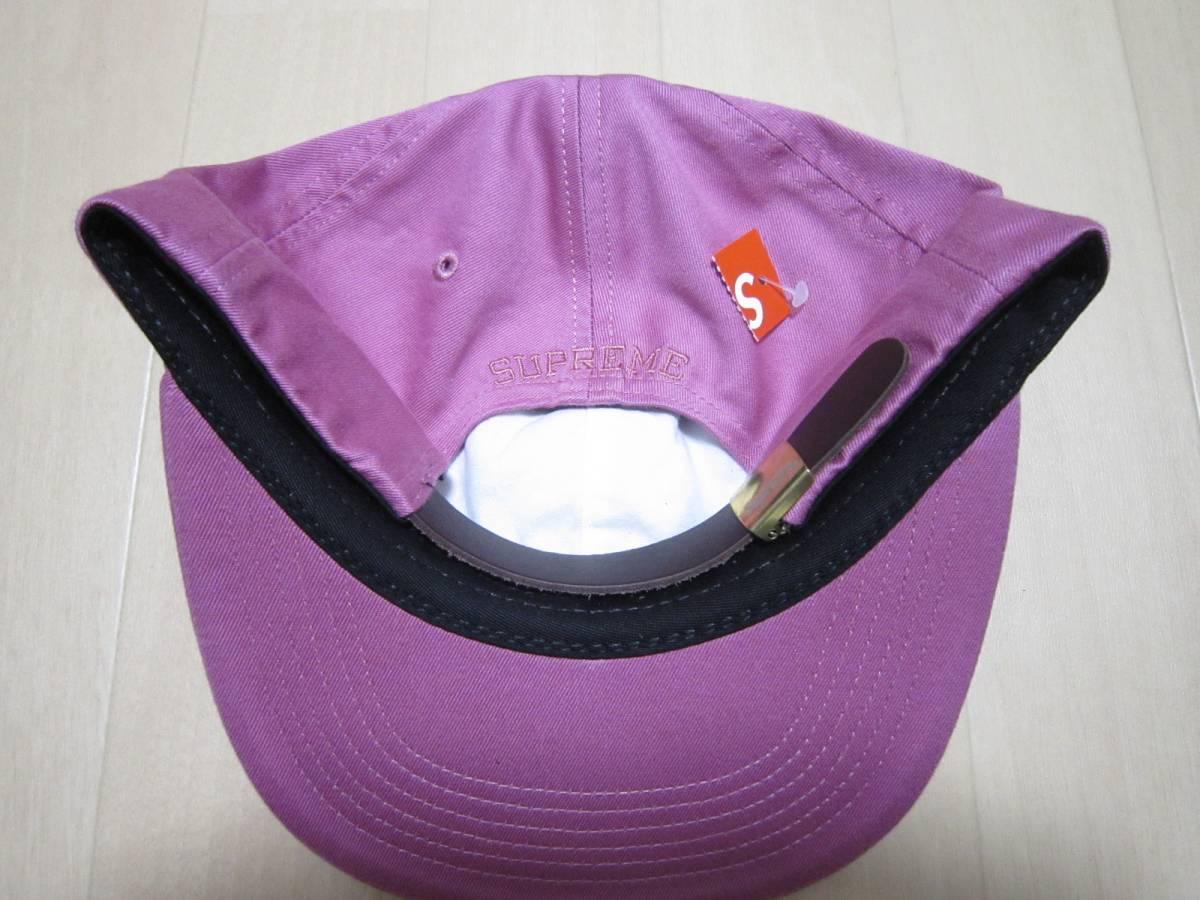 ピンク 国内正規 即決supreme 17aw Tonal S Logo 6-Panel シュプリーム 17fw Capキャップ 桃pink 18ss_画像2