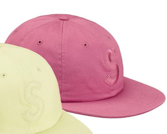 ピンク 国内正規 即決supreme 17aw Tonal S Logo 6-Panel シュプリーム 17fw Capキャップ 桃pink 18ss_画像3
