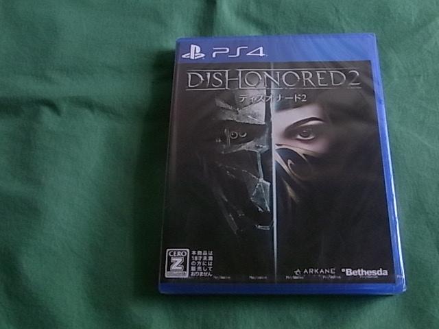 ★即決 PS4 ディスオナード2 DISHONORED 2 新品未開封