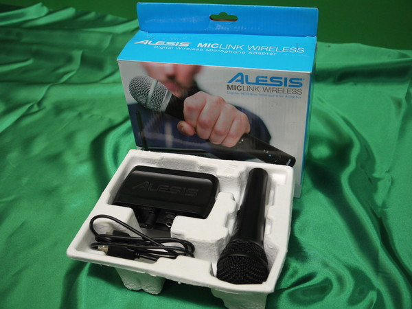 k146* Alesis ワイヤレスアダプター マイクシステム MicLink Wireless 変換器