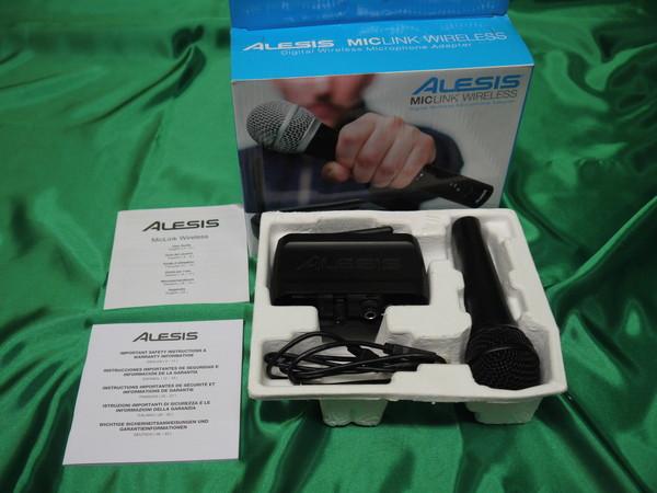 k146* Alesis ワイヤレスアダプター マイクシステム MicLink Wireless 変換器_画像5