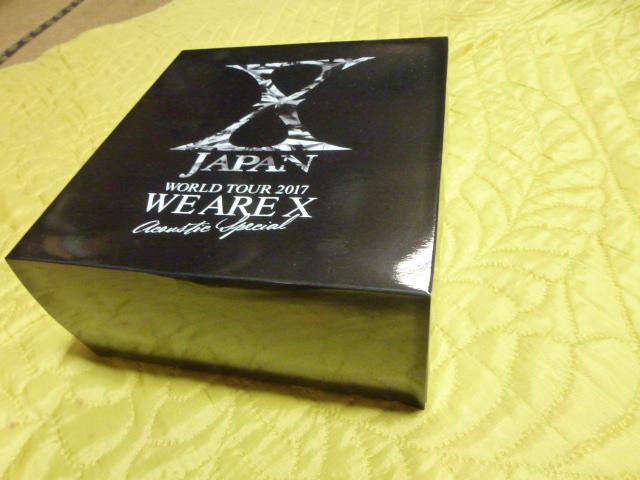 XJAPAN YOSHIKI WORLD TOUR2017最終日横浜アリーナ7月17日プラチナ スピーカー 未開封貴重 ライブグッズの画像