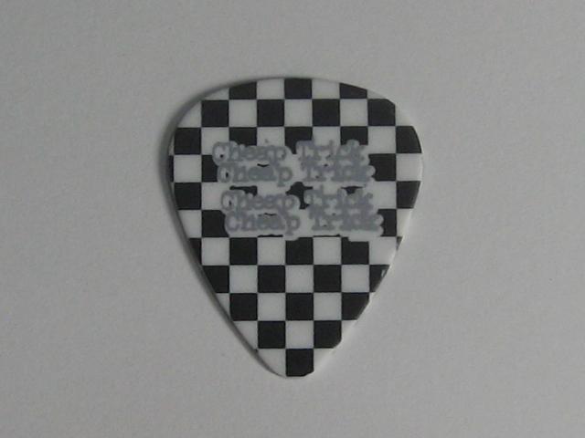 チープ・トリック Cheap Trick トム・ピーターソン Tom Petersson 2012 Tour ギターピック