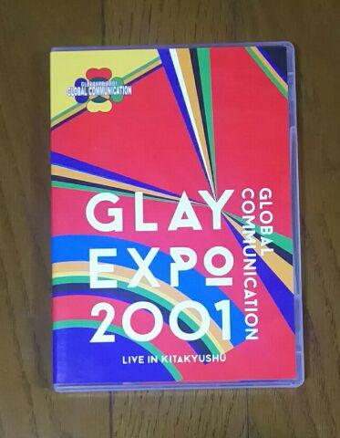 "GLAY EXPO2001 ""GLOBAL COMMUNICATION""@北九州市【DVD】 (GLAY 20th LIVEより単品) ライブグッズの画像"