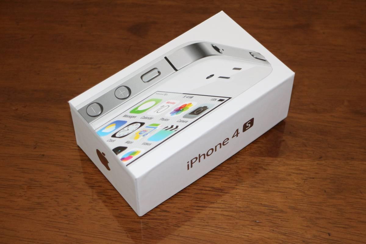☆新品同様・未通電・香港版☆ アップル Apple iPhone 4S 32GB A1387 ホワイト SIMフリー 日本語完全対応 香港からの並行輸入品