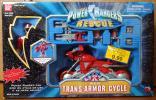 パワーレンジャー ライトスピード レスキュー レッド トランス アーマー サイクル バイク 中古 救急 戦隊 ゴーゴーファイブ スーパー戦隊