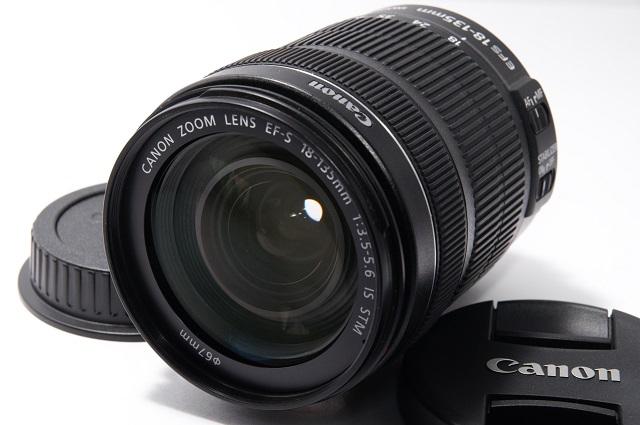 CANON キヤノン EF-S18-135mm IS STM 新品級! 1円スタート売り切り!!