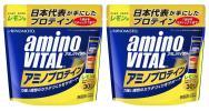 ★2個セット★ アミノバイタル アミノプロテイン レモン味 30本入り2個で合計60本! ホエイプロテイン&アミノ酸