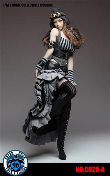 【予約】SUPER DUCK 1/6スケール 女性スチームパンク ファッション Aver.