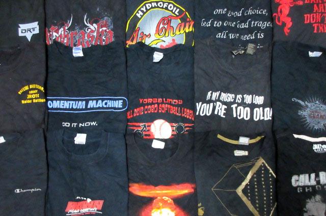 ブラック黒プリントTシャツ大量セット福袋ベールNIKEチャンピオンHanesメンズXLサイズUSA古着卸フリマまとめ売りアメカジ業販ビンテージ90s