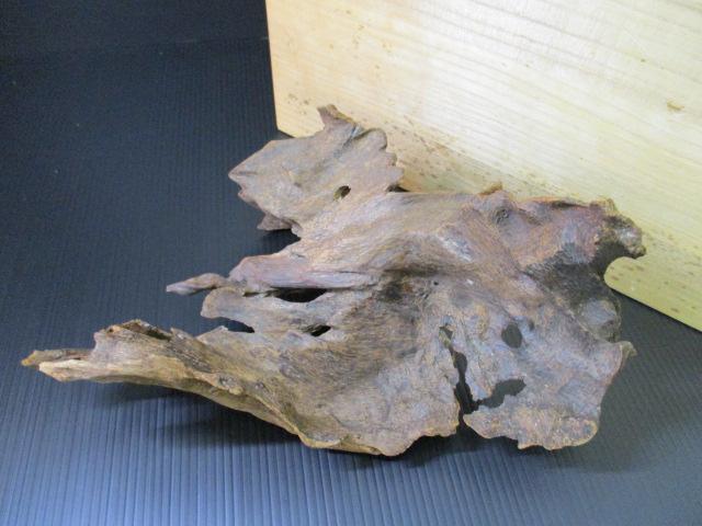 1707JX026 伽羅 香木 香道具 沈香 総重量約385g 詳細不明 共箱付