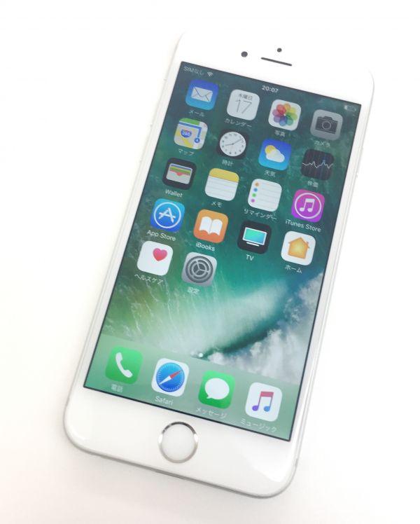 ☆【Aランク】Apple docomo iPhone 6 64GB シルバー NG4H2J/A ○判定 KI-125