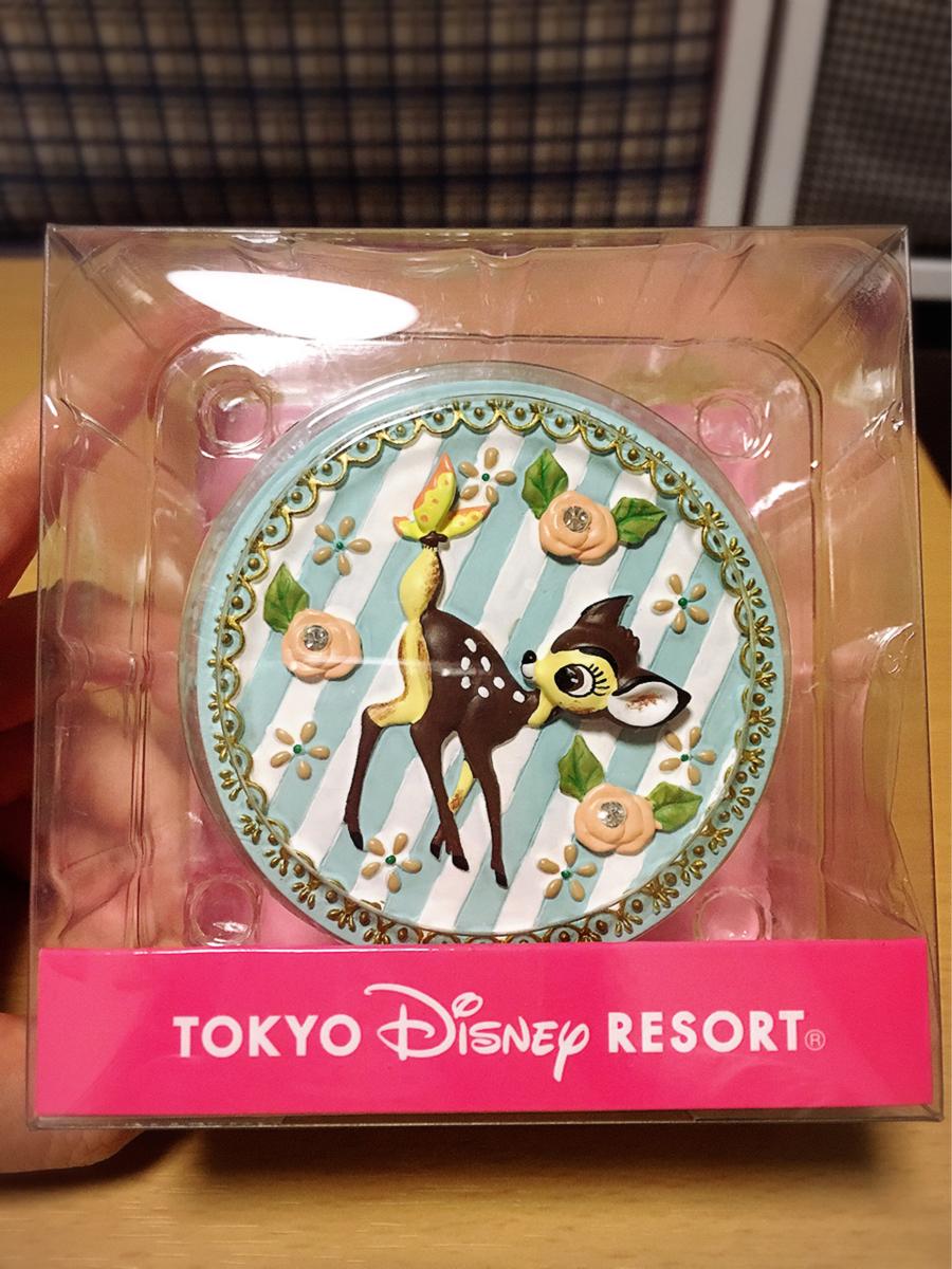 新品 バンビ 小物入れ ジュエリーケース ディズニー TDS TDL レア 白雪姫 ボックス ディズニーグッズの画像
