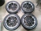 スズキ アルトターボRS 純正ホイール VITOUR FORMULA X ホワイトレタータイヤ 中古ホイール 新品タイヤ 165 55 15 4本セット