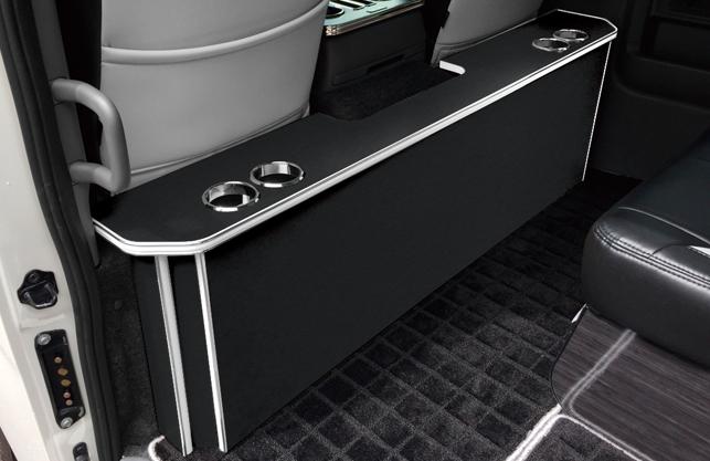 ( LEGANCE ) レガンス NV350キャラバン パーソナルワゴン パーソナルカウンターテーブル ドリンクホルダー 2個 右側のみ 全9色から選択_※画像は左右ドリンクホルダーあり