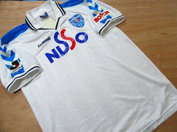 M158n 希少★hummel横浜FC2001ユニフォームL選手用?