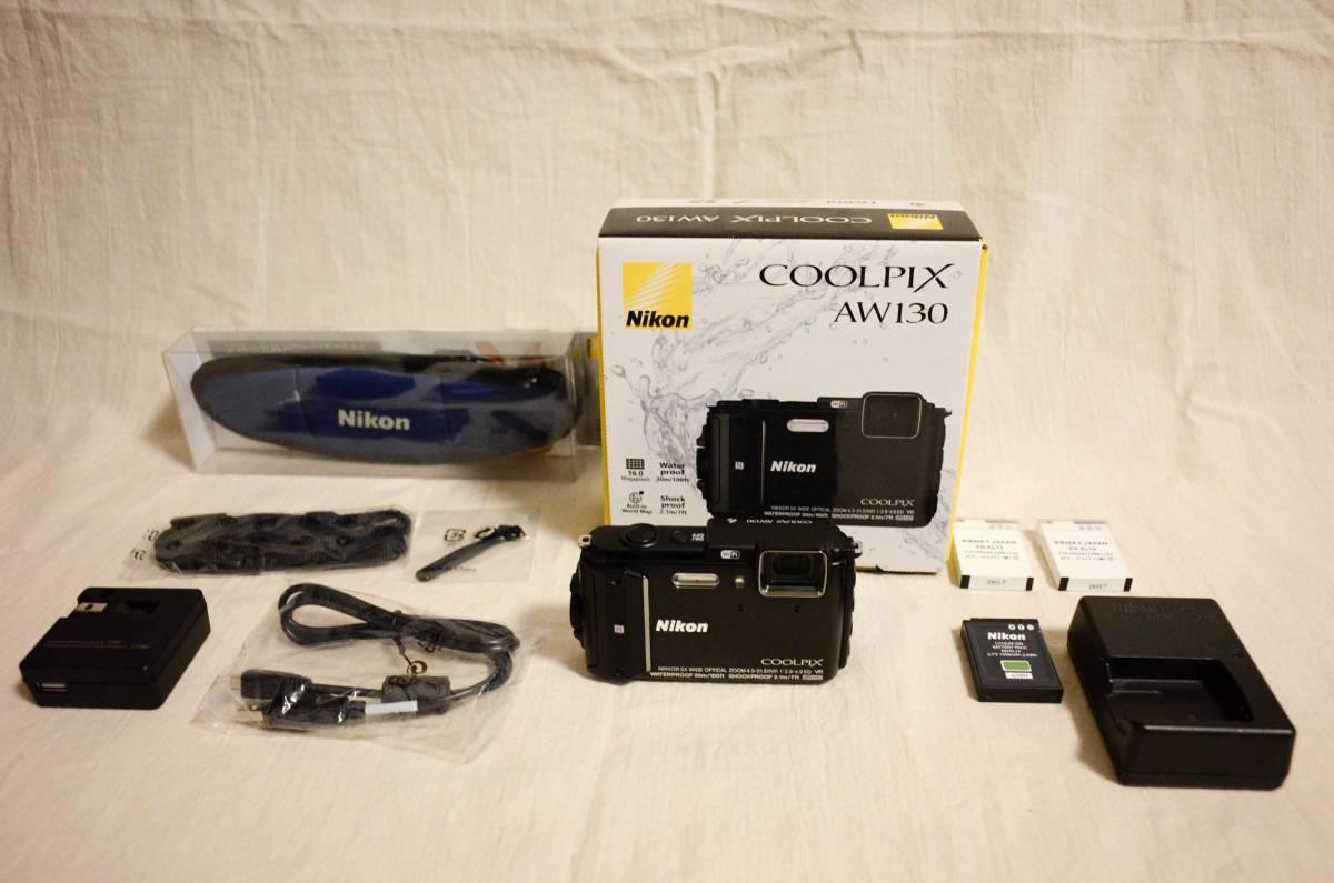 Nikon ニコン COOLPIX クールピクス AW130 中古実用品 おまけ付き