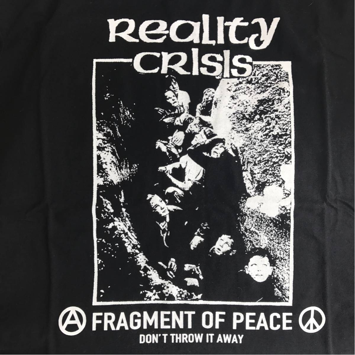REALITY CRISIS OLEDICKFOGGY Discharge. disclose gism gauze doom undercover crass. Meaning slang BRAHMAN Tシャツ