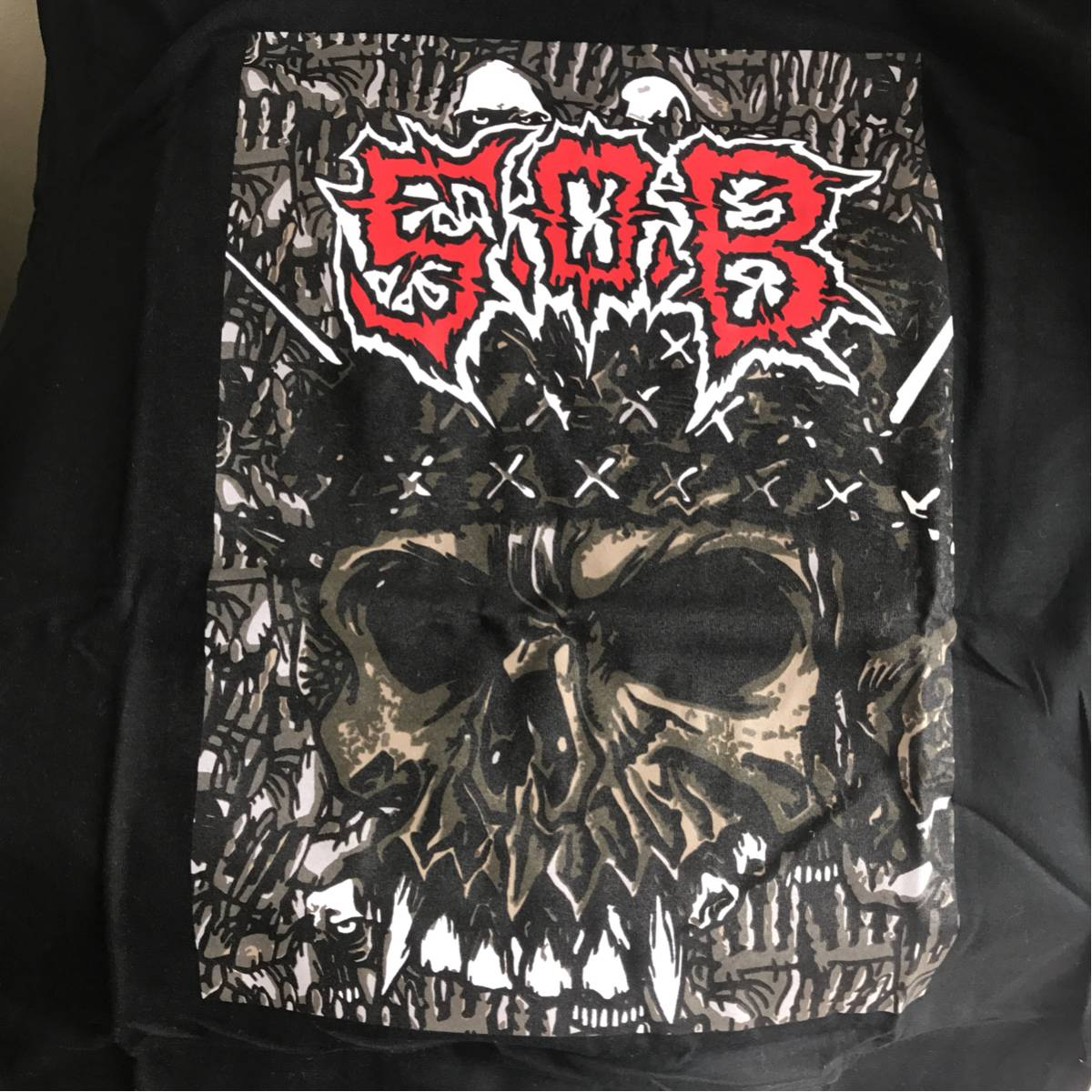 SOB S.O.B OLEDICKFOGGY Discharge. disclose gism gauze doom undercover crass. Assfort Death side Napalm Death Tシャツ brahman