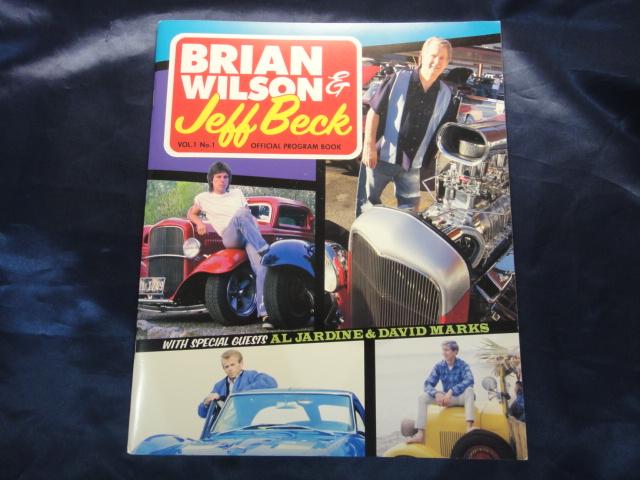 Brian Wilson & Jeff Beck オフィシャルプログラムブック