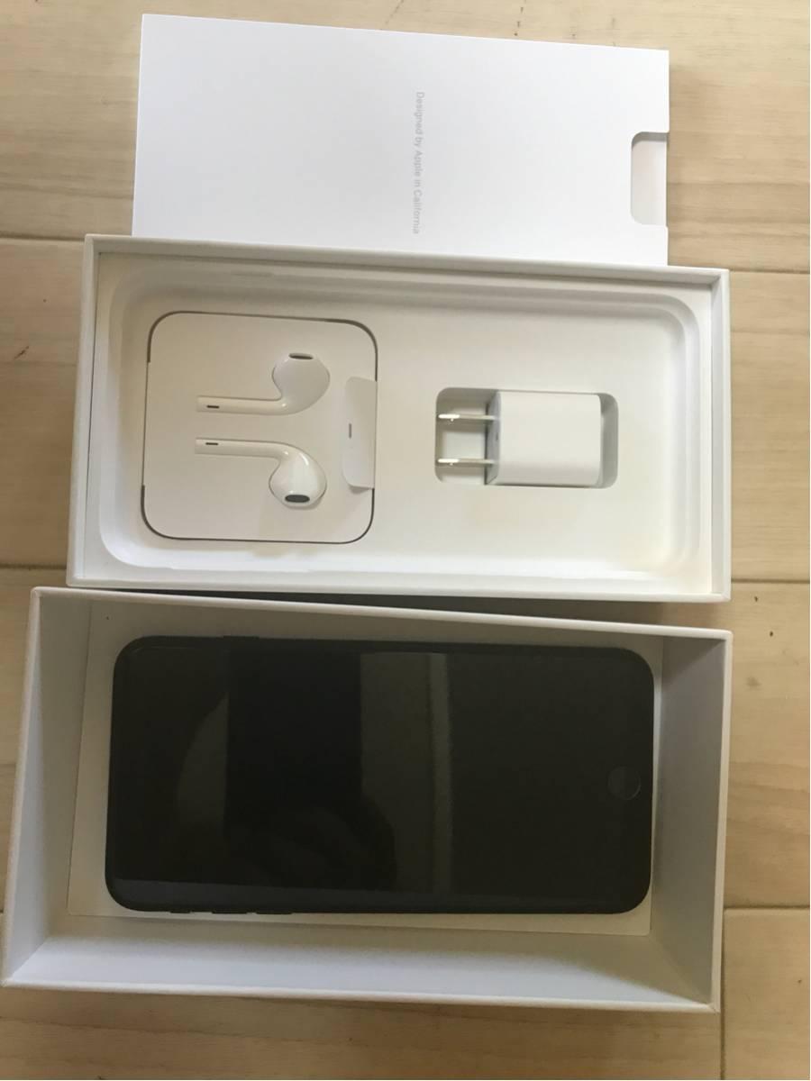 iPhone7plusマットブラック32G日本製SIMフリー美品