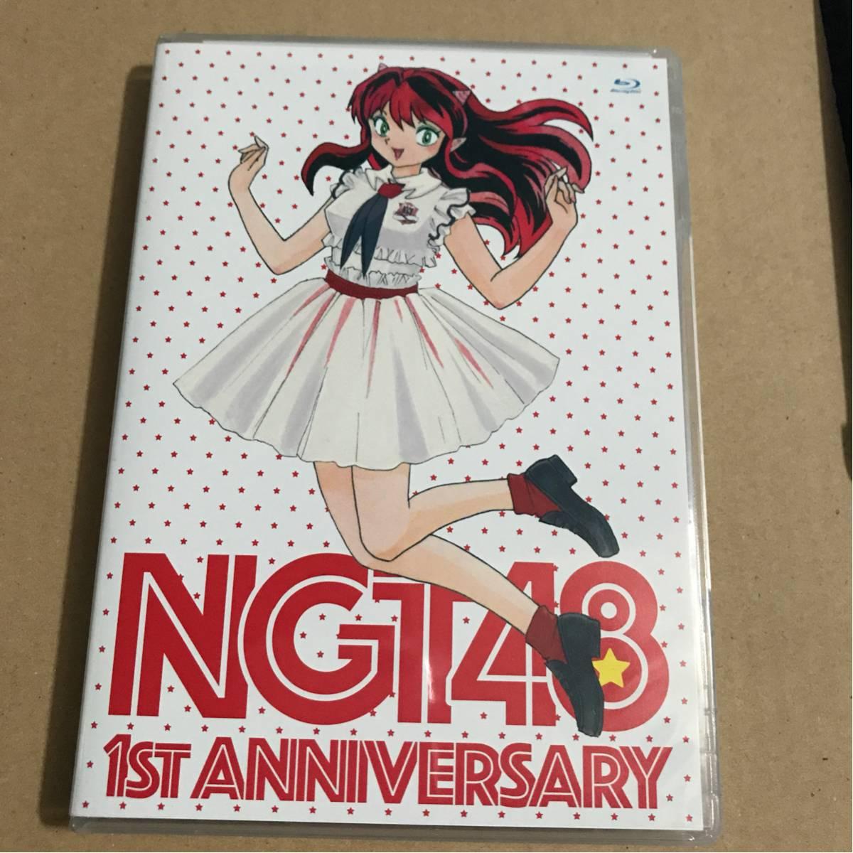 ブルーレイ◆NGT48 1st ANNIVERSARY 3枚組 生写真2枚付 ライブグッズの画像