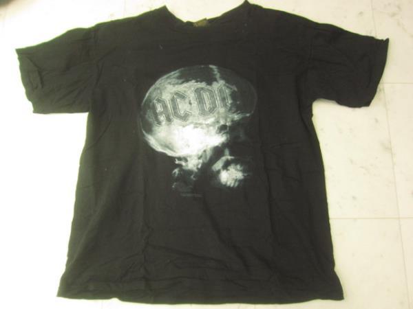 AC/DC ヴィンテージTシャツ 94年製黒USA製LバンドTシャツ X0725