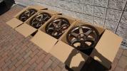 新品 軽量鍛造 RAYS レイズ VOLK RACING ボルクレーシング TE37 114.3-5H 9.5J+22 ブロンズ 4本セット