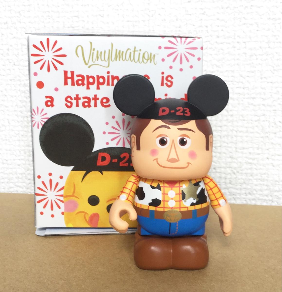 バイナルメーション D23 EXPO Japan 2013 トイストーリー ウッディ ディズニー Vinylmation Disney ディズニーグッズの画像