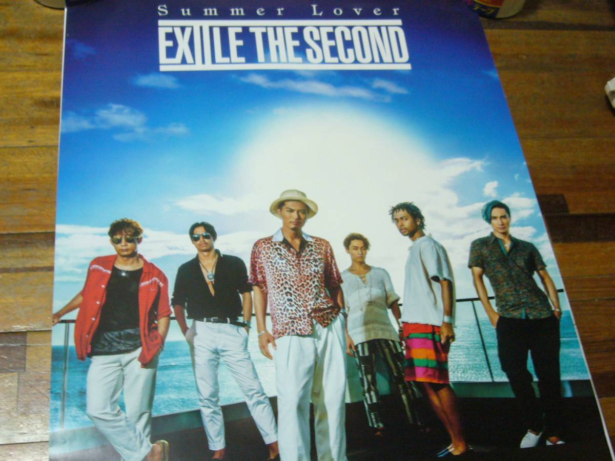 貴重B2大 ポスター EXILE THE SECOND/Summer Lover