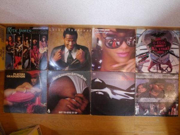 """88枚【LP+12""""】Soul / Funk / R&B / DISCO"""
